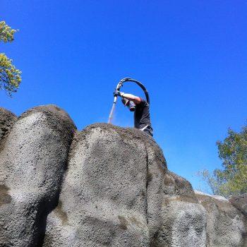 Skärgårdsklippor till Knubbsälarna på Skansen